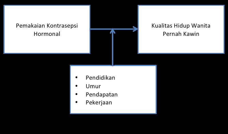 Bahan ajar metlit tinjauan pustaka kerangka teori kerangka kerangka konsep dengan variabel perancu ccuart Choice Image